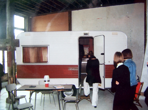 installation, art, caravane, contemporain